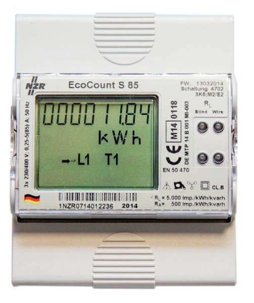 1 Stk EcoCount S 5(85)A M-Bus MID EcoCount S 5(85)A M-Bus 33320418