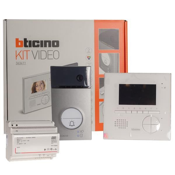 1 Stk Bticino Flex Video Linea3000 + V12E 363411