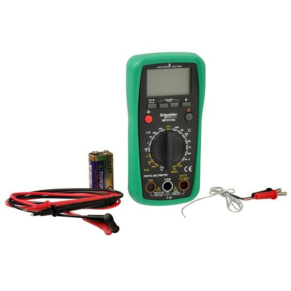 1 Stk Thorsman Digital Multimeter mit LCD-Display beleuchtet IMT23202