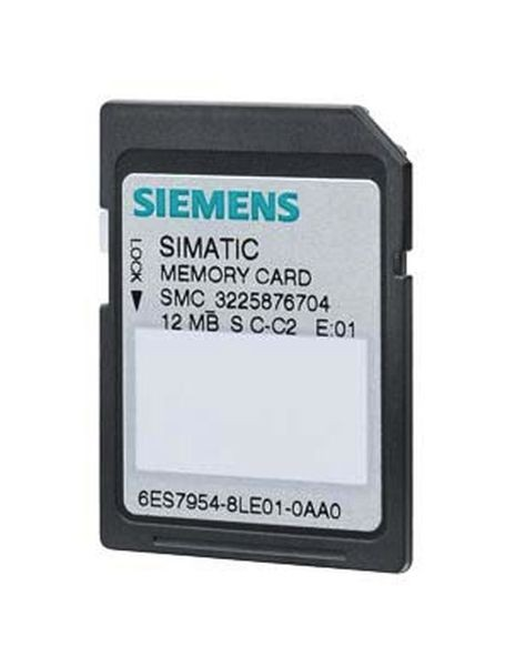 1 Stk 6ES7954-8LC03-0AA0 SIMATIC S7 Memory Card CPU SINAMICS 3V Flash 4MByte 6ES79548LC030AA