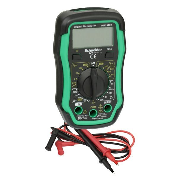 1 Stk Thorsman Digital Multimeter mit LCD-Display beleuchtet IMT23222