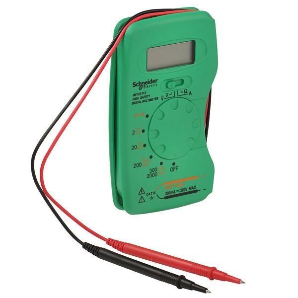 1 Stk Thorsman Kompakt Digitalmultimeter mit LCD-Display IMT23212